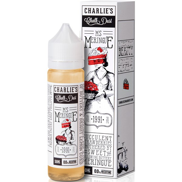 CHARLIE'S CHALK DUST - MISS MERINGUE by MR MERINGUE - 0mg / 50ml