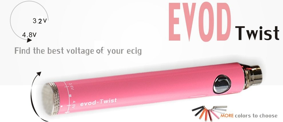 EVO-D TWIST BATTERY - (SSIMS) - 650mah