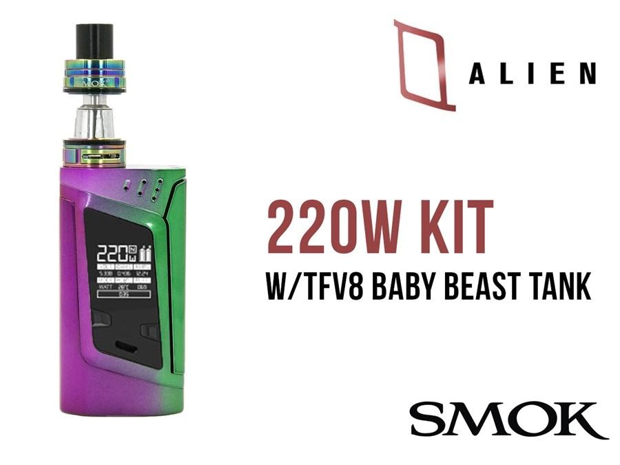 SMOK - ALIEN 220w KIT with BABY TANK