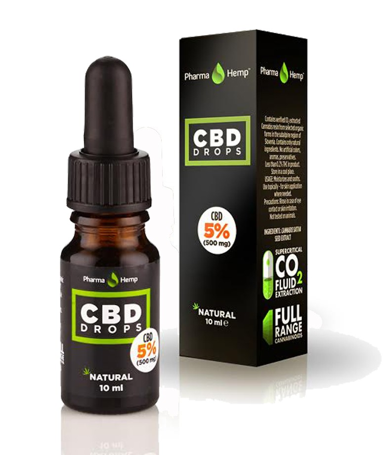 PHARMA HEMP - CBD DROPS 10ml - 5%