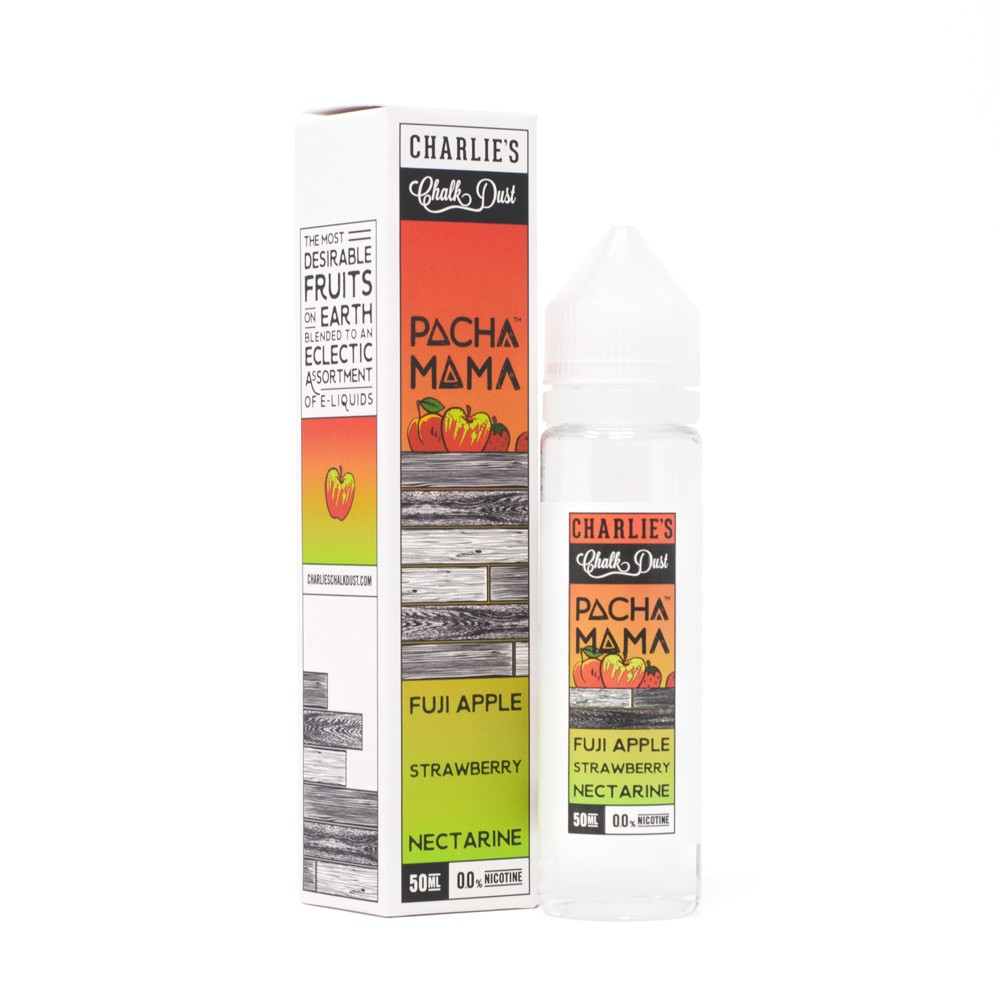 CHARLIE'S CHALK DUST - FUJI APPLE, STRAWBERRY NECTARINE by PACHA MAMA (50ml)