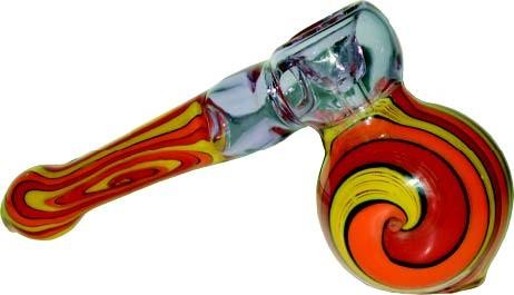 MEDIUM GLASS BUBBLER