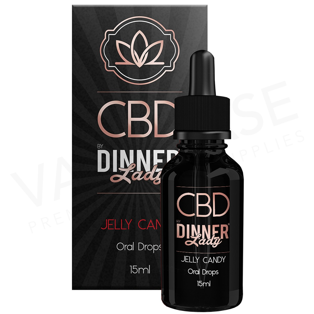 DINNER LADY - CBD DROPS JELLY CANDY (500mg)