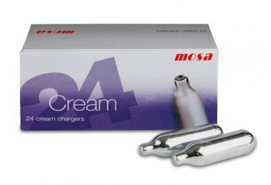 MOSA CREAM CHARGER (BOX 24)