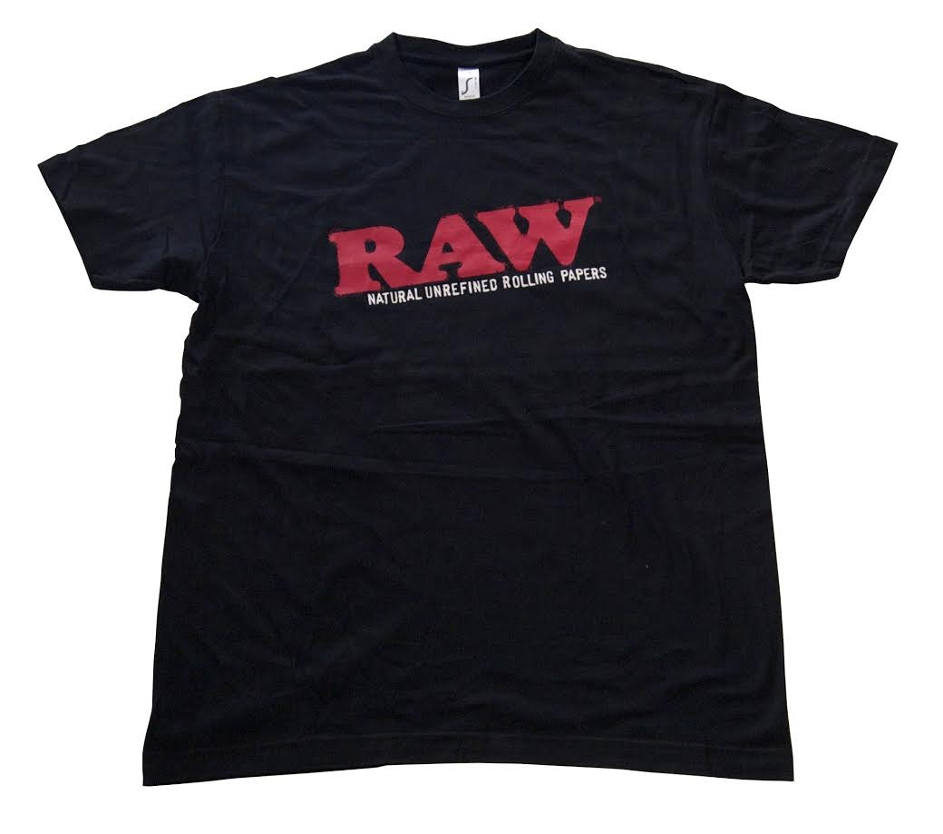 RAW T-SHIRT (BLACK)