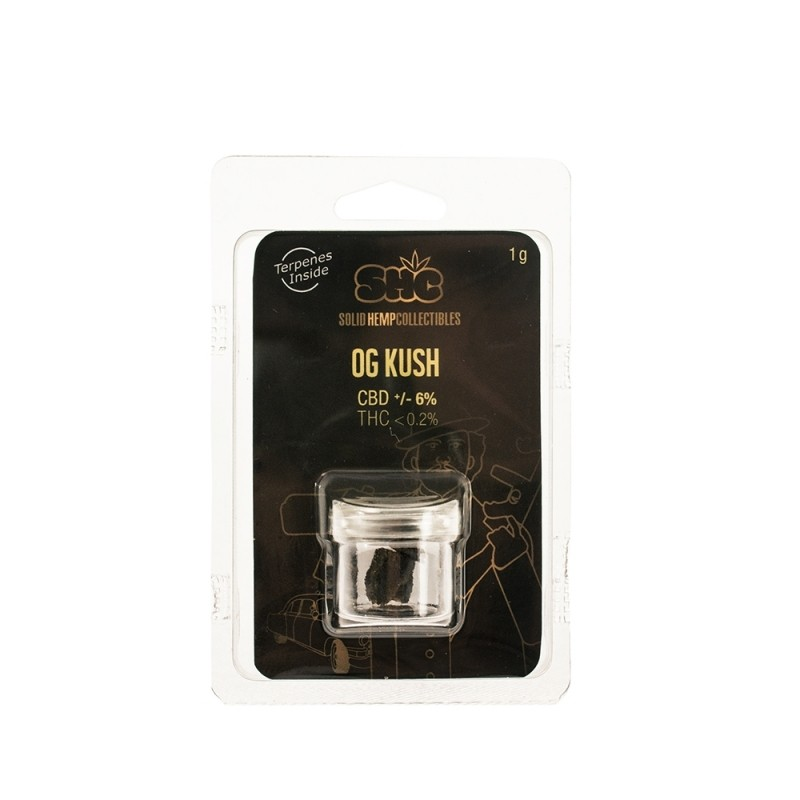 CBD SOLID HEMP COLLECTIBLES  (OG KUSH)