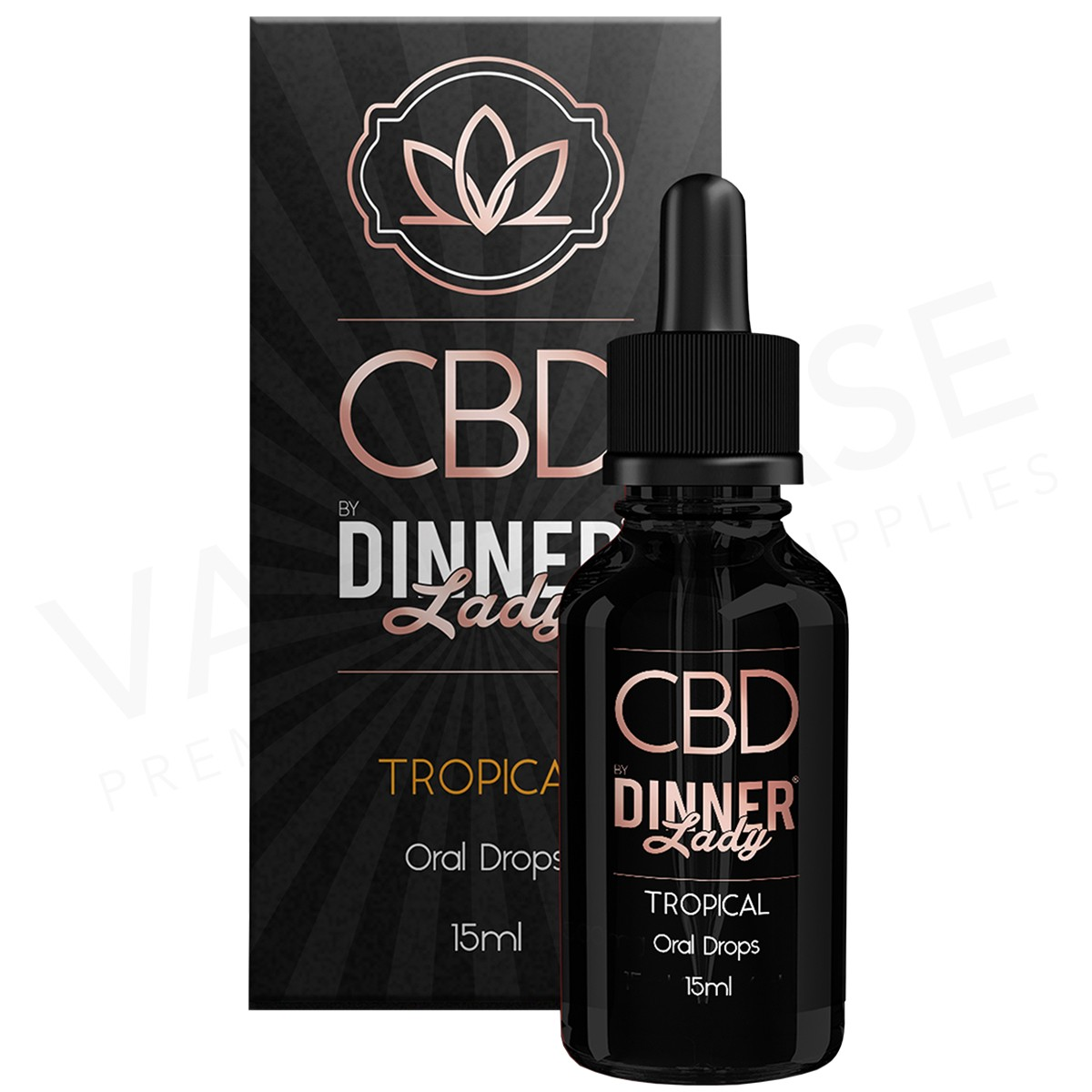 DINNER LADY - CBD DROPS TROPICAL (500mg)