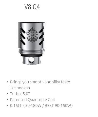 SMOK - TFV8 V8-Q4 COIL - 0.15ohm