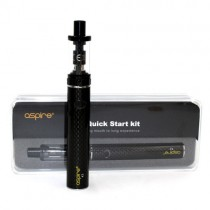 ASPIRE - K3 QUICK START KIT - CARBON BLACK