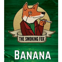 THE SMOKING FOX 50ml SHORTFILL - BANANA