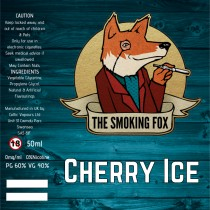 THE SMOKING FOX 50ml SHORTFILL - CHERRY ICE