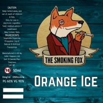 THE SMOKING FOX 50ml SHORTFILL - ORANGE ICE