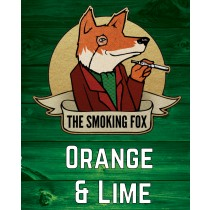 THE SMOKING FOX 50ml SHORTFILL - ORANGE & LIME