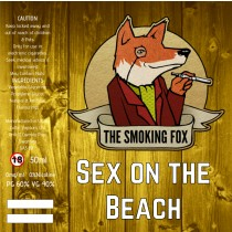 THE SMOKING FOX 50ml SHORTFILL - SEX ON THE BEACH