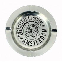 THE BULLDOG AMSTERDAM ASHTRAY - SILVER