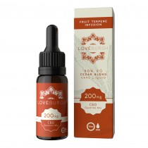 LOVEBURGH CBD VAPE JUICE - CEDAR BLEND (400mg)