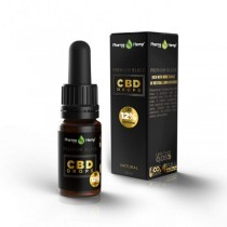 PHARMA HEMP - BLACK PREMIUM - CBD DROPS 10ml - 12%