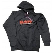 RAW HOODIE (BLACK)