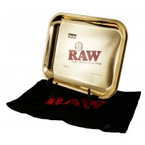 RAW - LIMITED EDITION LARGE 24kt GOLD TRAY