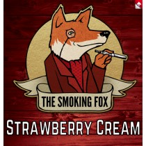 THE SMOKING FOX 50ml SHORTFILL - STRAWBERRY CREAM
