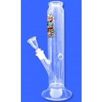 TATTOO LOGO GLASS BONG -01167- 32 X 55 mm
